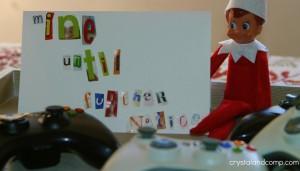elf-on-the-shelf-ransom-note via crystalandcomp.com