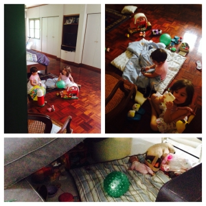 Homeschool refusal. Girls free play time.
